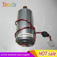 Free shipping Q1273 60247 Q1273 60037 Media axis motor For the HP Designjet 4000/4500/4520/Z6100/Z6200 plotter parts