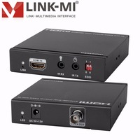LINK MI 328ft/100m Single 75Ohm RG 6U Coaxial Cable HDMI Extender With IR Control High definition signal extension transmitter