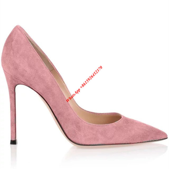 Blush pink suede women pumps supper sales 2017 women shoes pointed blush pink suede women pumps supper sales 2017 women shoes pointed toe stiletto heels wedding party junglespirit Choice Image