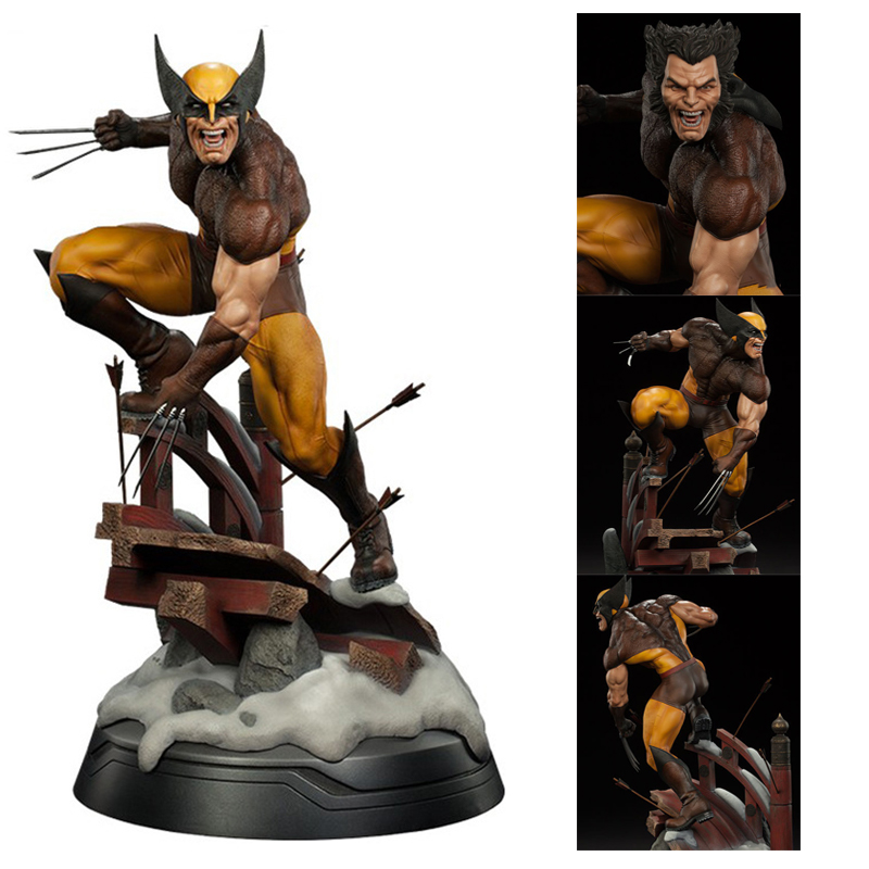 X-Men Dowin Wolverine  1/6 Scale Statue Figure PVC Action Figure Collectable Model Toy Doll Gift