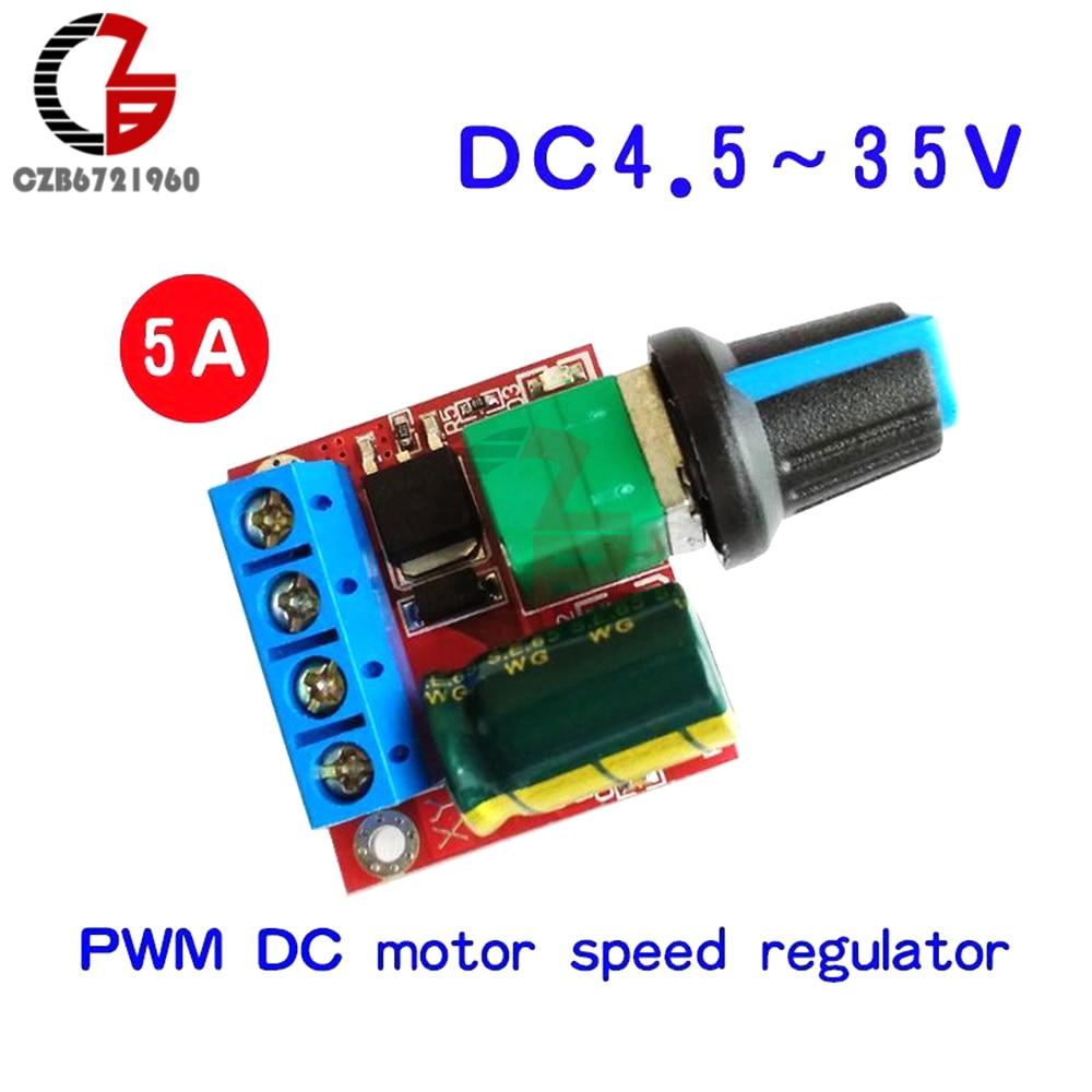 mini-dc-dc-45v-35v-5a-90w-pwm-dc-motor-speed-controller-module-speed-regulator-control-adjust-adjustable-board-switch-12v-24v