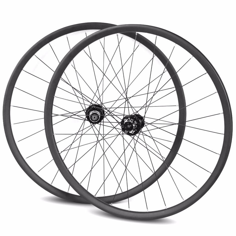 T700 full carbon fiber 29er mountain mtb bike wheels bicicletas mountain carbon wheels with Novatec D771/D772 hub 28/28 holes iplay 29er carbon mtb wheels hooklesss