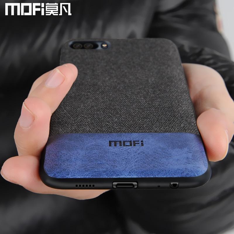 Huawei P10 Plus fall abdeckung P10 + zurück abdeckung weichen silikon rand fall stoßfest männer business coque MOFi original Huawei p10 fall