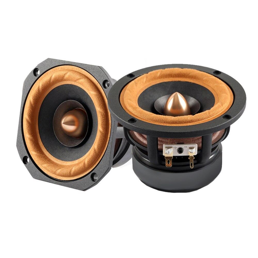 AIYIMA 1 Pc haut-parleur Audio 4 pouces haut-parleur de graves gamme complète haut-parleur 4Ohm/8Ohm 30 W colonne bricolage haut-parleurs pour système Home cinéma