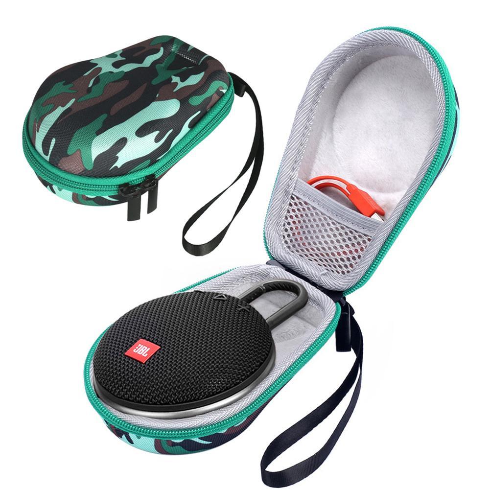 For JBL CLIP3/2 Bluetooth Speaker Storage Bag EVA Hard Travel Carrying Case For JBL Clip3 Or JBL Clip 4 Speaker Accessories