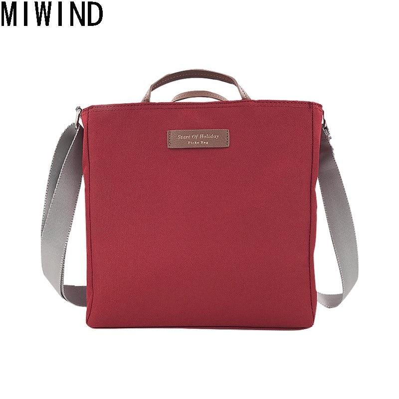 MIWIND Korean Women Multifunction Bag Large Capacity Travel Bag Women Weekend Handbag Travel Duffle Tote Bags TAS1406