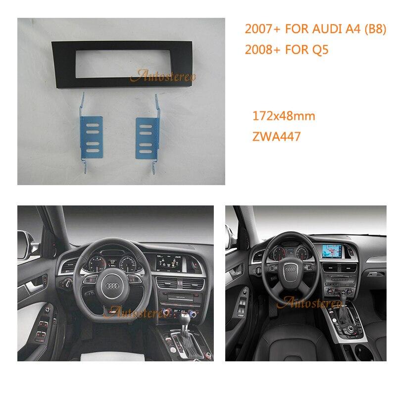 single din car radio fascia trim bezel frame panel install. Black Bedroom Furniture Sets. Home Design Ideas