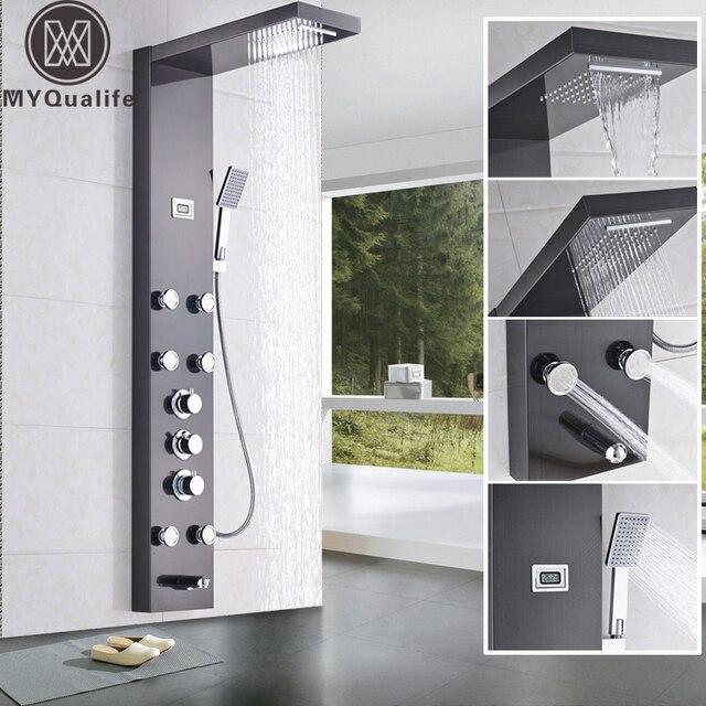 acheter cascade 6 pc massage jets pluie. Black Bedroom Furniture Sets. Home Design Ideas