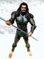 DC Aquaman Action Figures Iron Studios DAH 007 BJD Collectible Toys 48cm