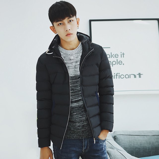 TG6234 Cheap wholesale 2016 new Teenagers cotton-padded clothes male student han edition short winter clothes