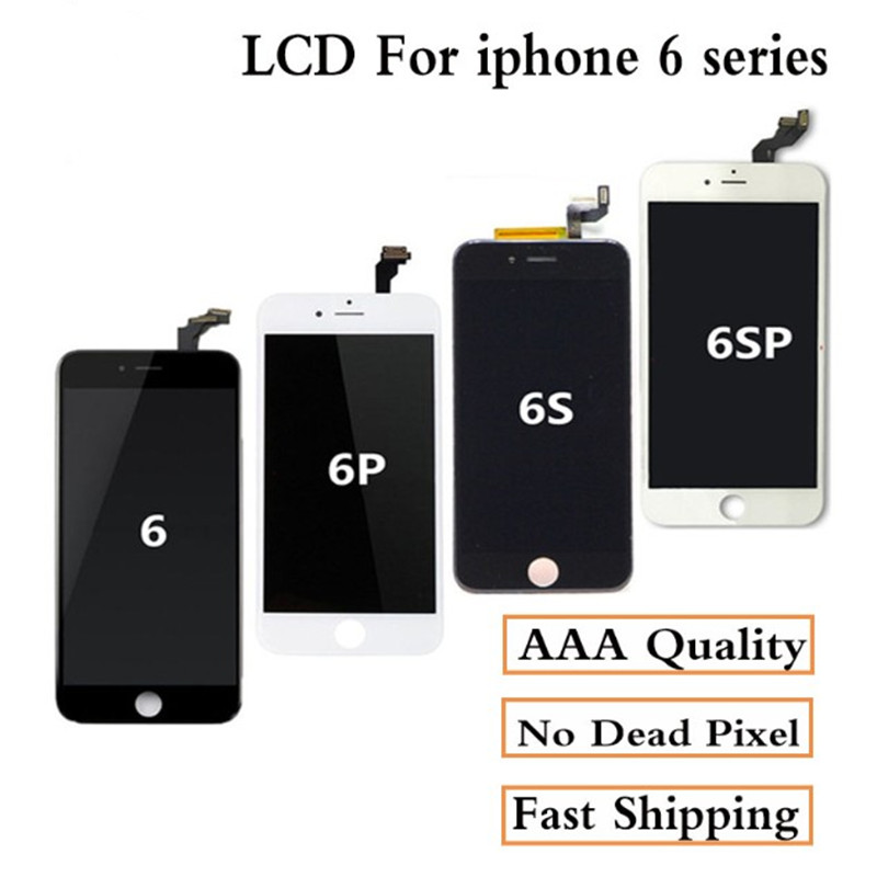 Image 2 - AAAA+ For iPhone 6 LCD Screen Full Assembly For 6 Plus 6s 5S 6S plus Display Touch Screen Replacement Display No Dead Pixel-in Mobile Phone LCD Screens from Cellphones & Telecommunications