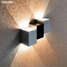 3pcs/lot LED Wall Lights for Living Room Wall Mountted Modern Lights for Hall Porch Walkway Light Bedroom for All kind of Wall