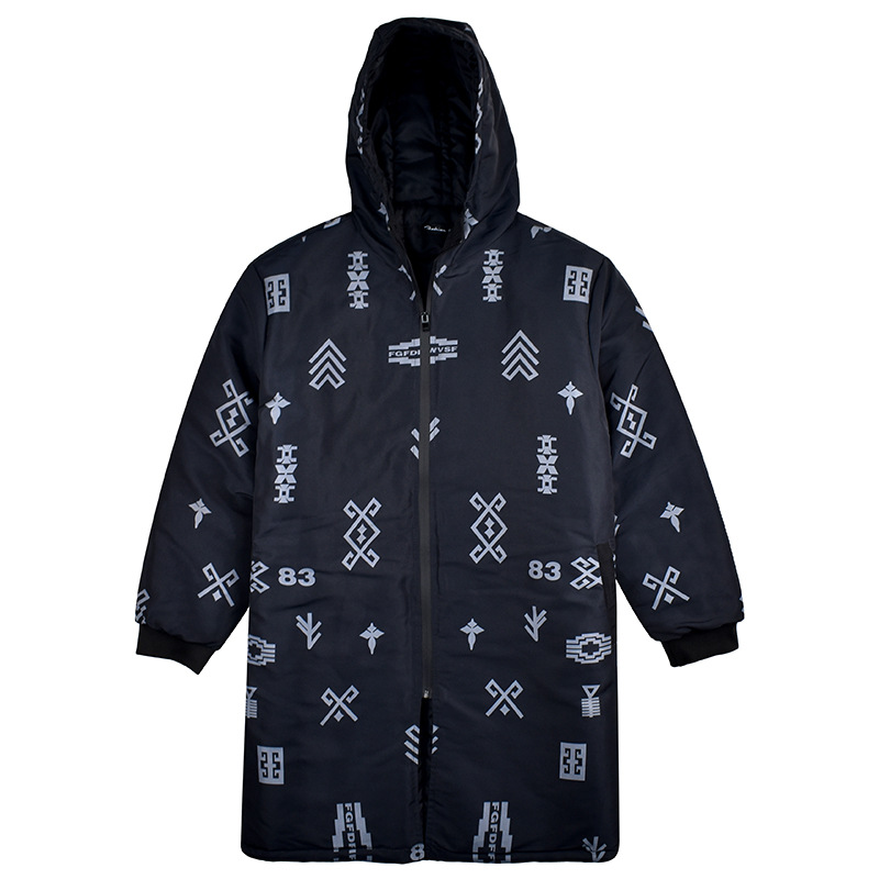 20 Degree Winter Parka Men Jacket Fleece Thick Warm Men Coat Hooded Removable Windbreaker Parka