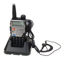 цена на New Baofeng UV-5RE Walkie Talkie Dual Band VHF UHF 136-174/400-520MHz FM Transceiver Portable 5W Two Way Handheld Radio Scanner