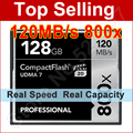 120MB/s 800x 8GB 16GB 32GB 64GB 128GB Class 10 CF Card CompactFlash Memory Card For SLR Camera Camcorder 1080p Image 3D 4K video