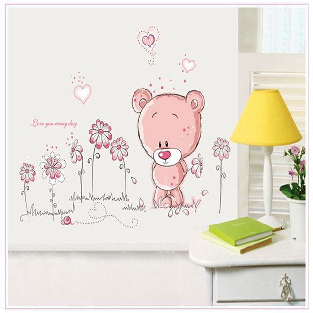 Love Bear 100*75cm Wall Covered 10