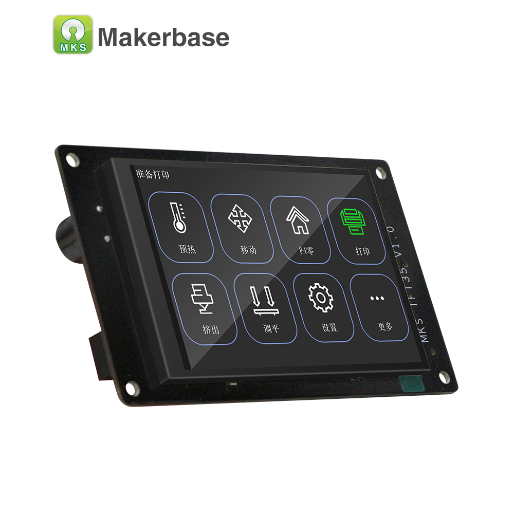 Makerbase 3d printer display MKS TFT35 V1 0 touch screen with 3 5 inch full color screen colorful display in 3D Printer Parts Accessories from Computer Office