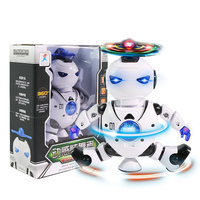 Dancing Singing Music Flash Robot Toys For Children Baby Educational Luminous Intelligent Robots Dazzle And Crazy