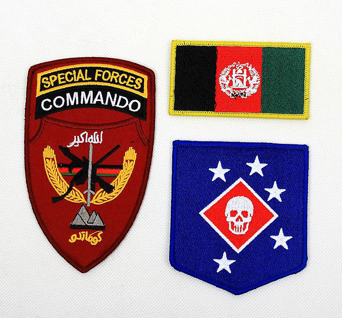 MARSOC Afghanistan Special Forces USMC Patches Appliques Cosplay Patch Jacket Arm Backpack Bag Embroidered Military Badge Gift