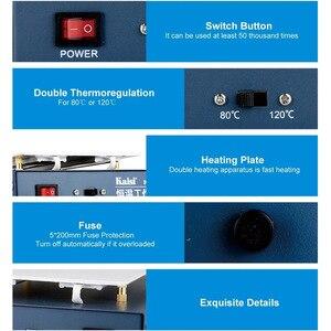 Image 4 - 온도 조절기 예열 스테이션 휴대 전화 lcd 화면 열기 분리기 전화 회로 기판 desoldering station