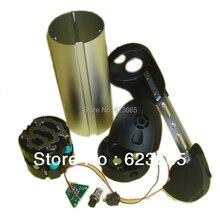 무료 배송 전자 자전거 배터리 상자 36V 전기 자전거 리튬 이온 배터리 상자 케이스 무료 18650 배터리 홀더 및 니켈 스트립