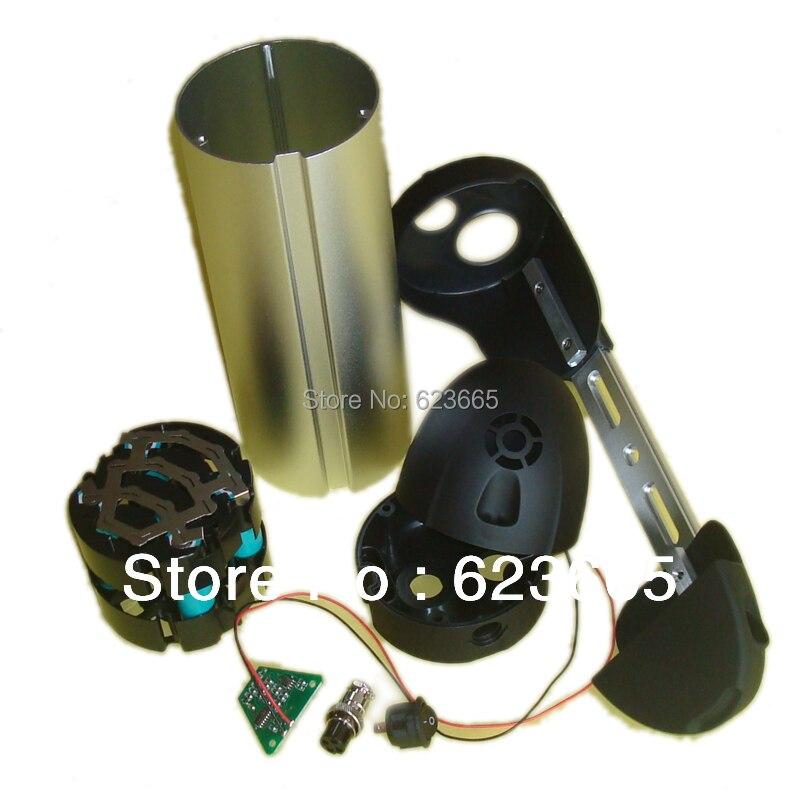 Livraison gratuite e-bike batterie boîte 36 V vélo électrique li-ion batterie boîte avec 18650 gratuit support de batterie et bande de Nickel