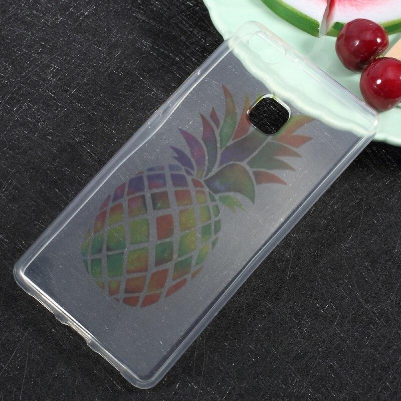 Case imd patrón de la impresión clara suave tpu case accesorios del teléfono móv