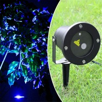 New Outdoor Indoor Green Laser Blue LED Projector Lights Landscape Garden Decoration Home Party Xmas Buried