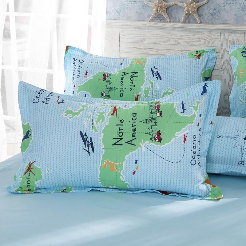 Bedding sets 4pcs duvet cover sets cartoon world map cartoon children bedding set twin full queen king size freeshipping in bedding sets from home bedding sets 4pcs duvet cover sets cartoon world map cartoon children bedding set twin full queen king size  Image collections