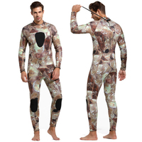 Sbart Camo 3MM Neoprene Diving wetsuits men full body Scuba Snorkeling Suit Spearfishing Warm protective one piece swimsuit