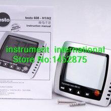 Testo 608-H1(0560 6081) цифровой Термогигрометр Влажность/Dewpoint/измеритель температуры тестер