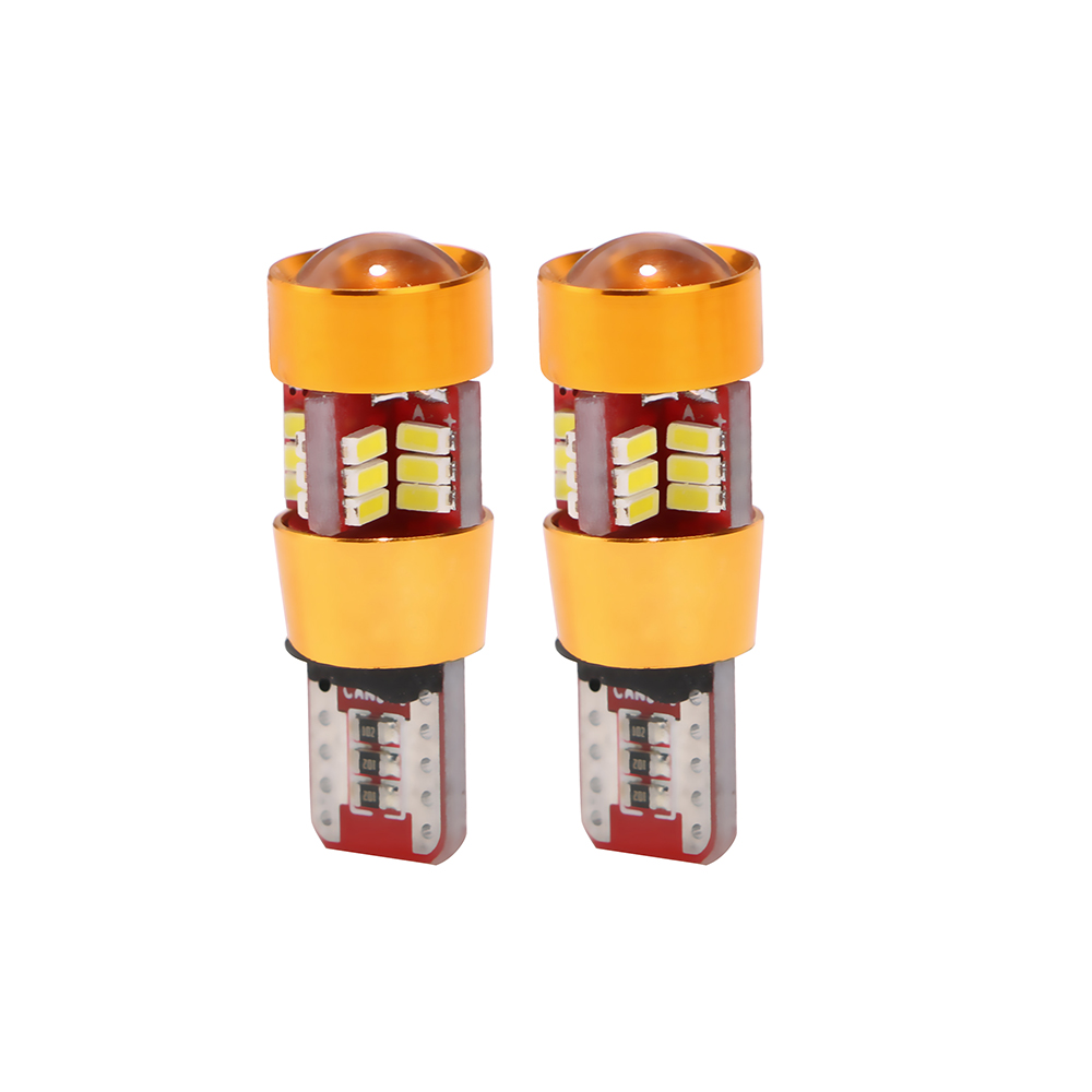 ITimo Auto Replacement Parts Universal Decode Clearance Lights Turn Signal Lights Car-styling T10 3014 27SMD 2Pcs/Set