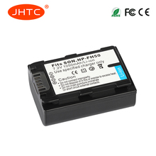 JHTC 1Pcs1050mAh Battery for Sony NP-FH50 NP-FH40 NP-FH30 NP-FH60 NP-FH70For Alpha DSLR A230 A330 A380 DSC-HX1 HX200 HDR
