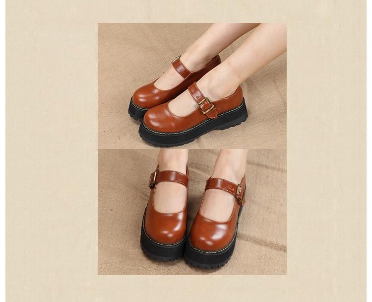 HTB1xGYVocjI8KJjSsppq6xbyVXaM - Mary Jane Ankle Strap Casual Ladies Loafer Shoes-Mary Jane Ankle Strap Casual Ladies Loafer Shoes
