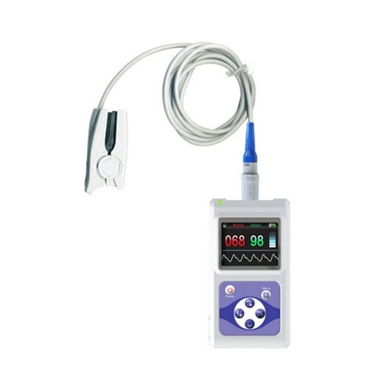 Fingertip Pulse Oximeter For Veterinary SPO2 Pulse Rate Oxygen Monitor oximetro de dedo Data Storage With Oximeter Probe CMS60D oximetro de dedo fingertip pulse oximeter cms50el fingertip finger pulse oximeter spo2 monitor blood oxygen
