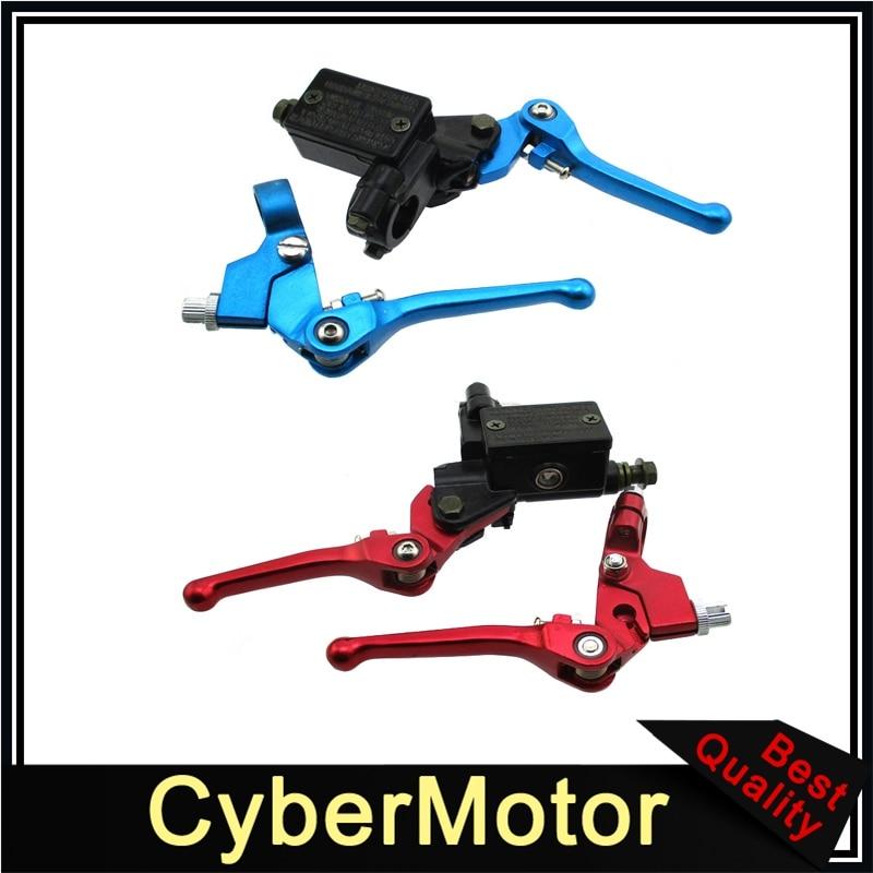Гидравлический тормозной главный цилиндр рычаг сцепления для 50cc-160cc DHZ GPX Pitster Pro SDG Braaap Taotao Coolster Lifan YX внедорожный велосипед