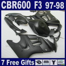 font b customize b font free black fairing ABS for Honda CBR 600 F3 97