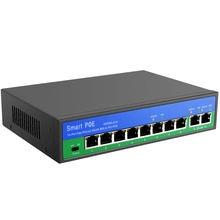 Yiispo 10/100 Мбит/с poe коммутатор 8 + 2 порта 6 портов стандартный