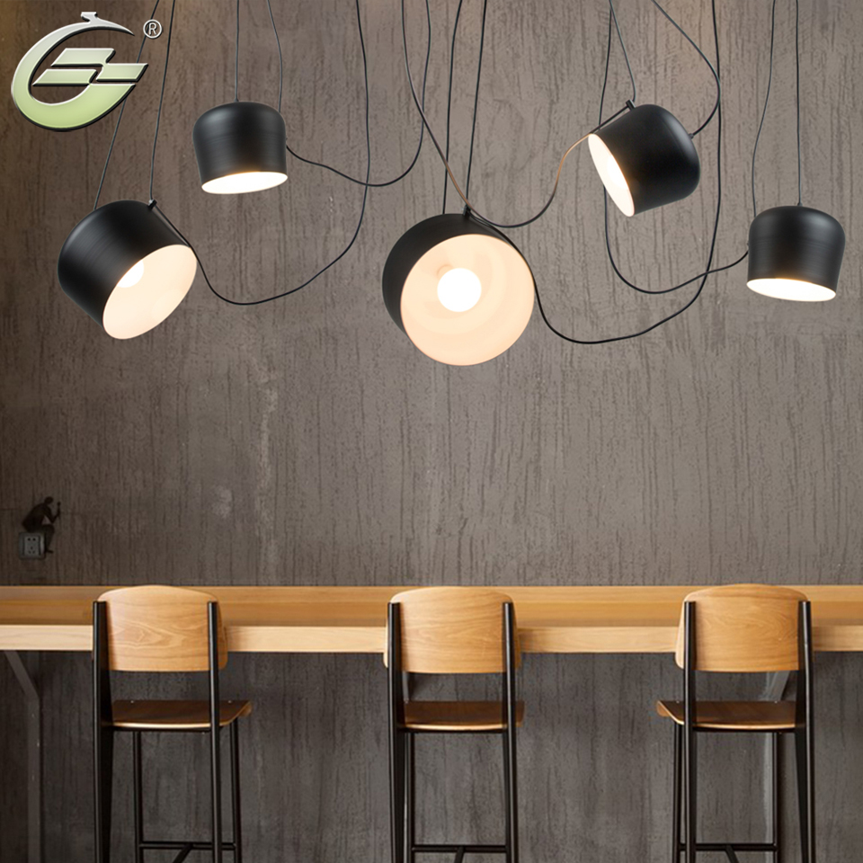 Fashion Iron Pendant Lights Black White Lampshade Hanging Lamp E27 Living Room Restaurant Coffee Indoor Decor Light Fixture household portable high pressure car washing pump 220v self suction water pump