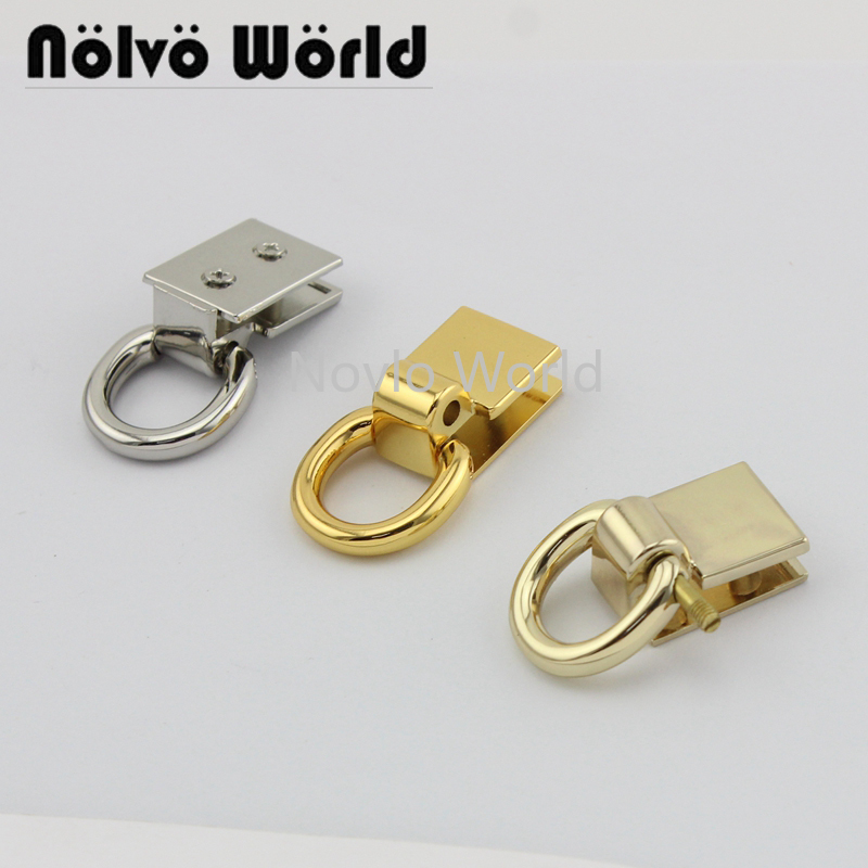 Wholesale 500pcs,4 Colors Accept Mix Color, Metal Buckle Snap Hook For Handbag Purse Repair Diy Clasp Hooks Hardware Accessories