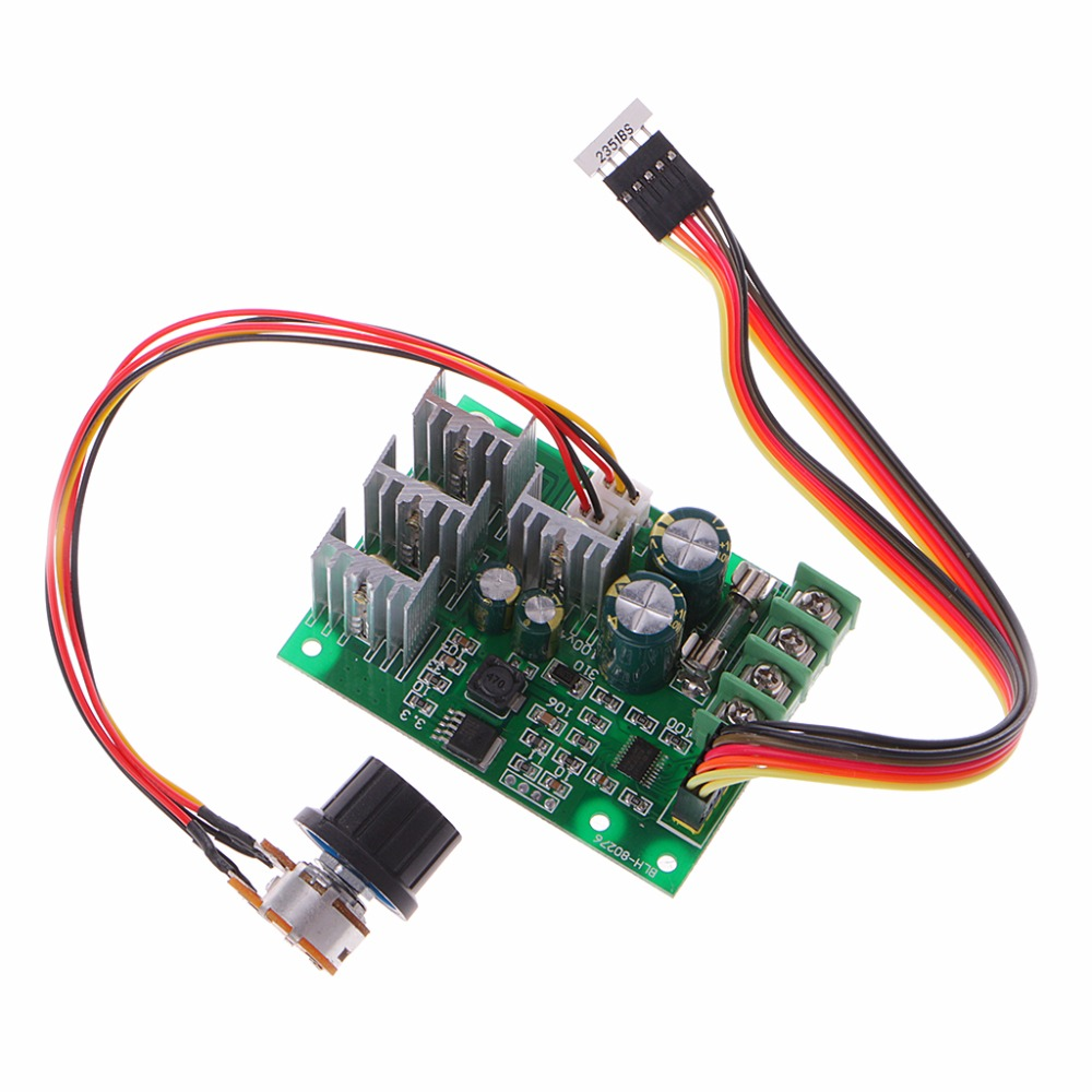 30A DC 6-60V PWM Motor Speed Controller Board Dimmer Current Regulator+Display New 20a universal dc10 60v pwm hho rc motor speed regulator controller switch l057 new hot