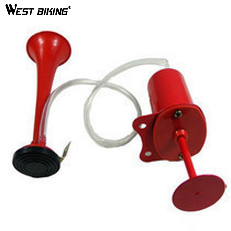 WEST BIKING Bicycle Horn Air Horn Air Horn Bicycle Bell Large Bik Alarm Army Air Horn Bike Cycling Bicycle Bells horn