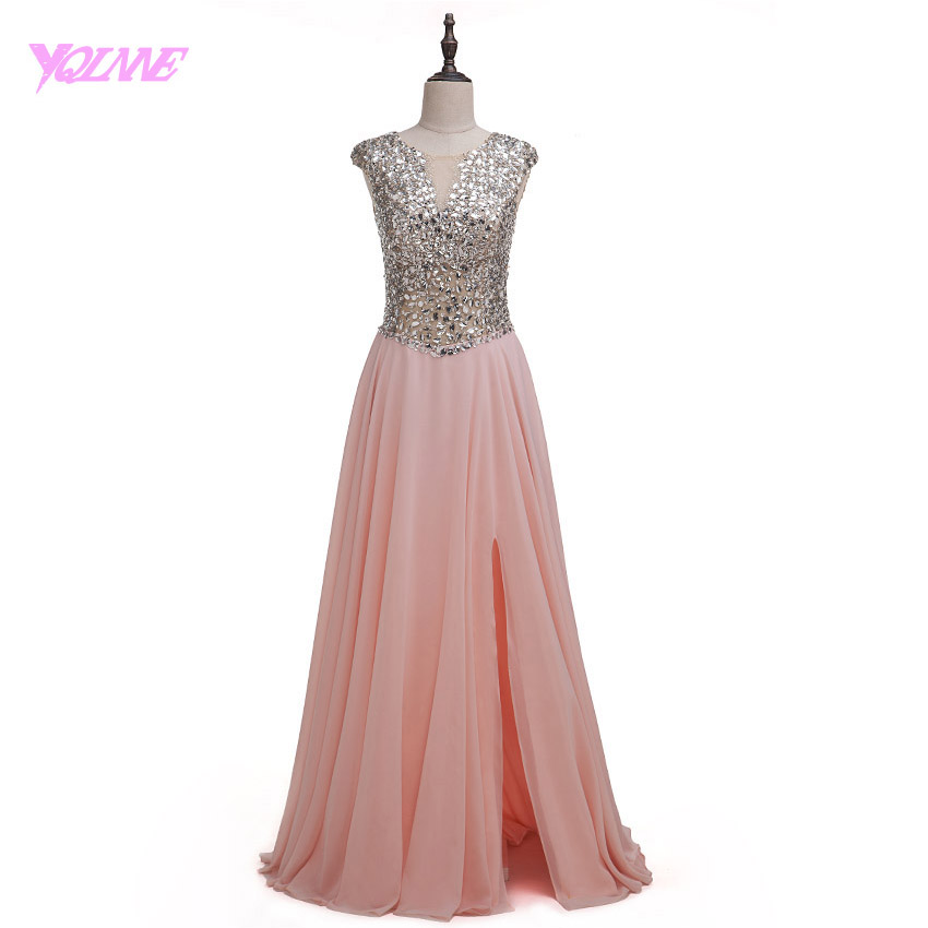 Online Get Cheap Long Blush Prom Dresses -Aliexpress.com | Alibaba Group