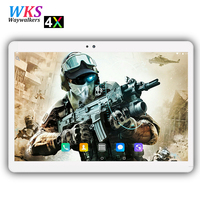 2018 Global Version 10 inch 4G FDD LTE tablet Android 7.0 4GB RAM 64GB ROM MTK6797 Deca Core CPU 1920*1200 IPS 8.0MP GPS Tablets