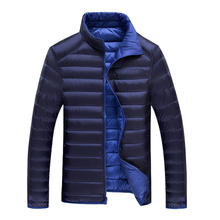 Free shipping!2016 fashion new winter down jacket men goose white duck down coat mens-Big yardsparka-jacket casual