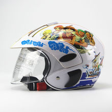 Children's Motocross Motorcycle Motor Helmet Winter Warm Comfortable Motos Protective Safety Helmets For Kids 3~9 years old