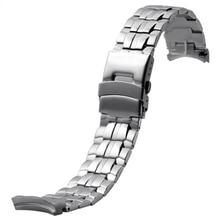 Stainless Steel Watchbands for Men EF-550D  Original Quartz Watches  Men Wrist Watch Curved End 22mm Black Sport Watch все цены