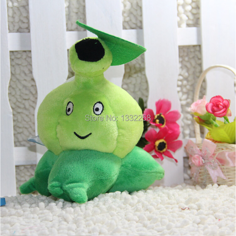 Free Shipping 19cm High Quality PP Cotton Plants vs Zombies In Bursa mucosa Lovely Plush Toys