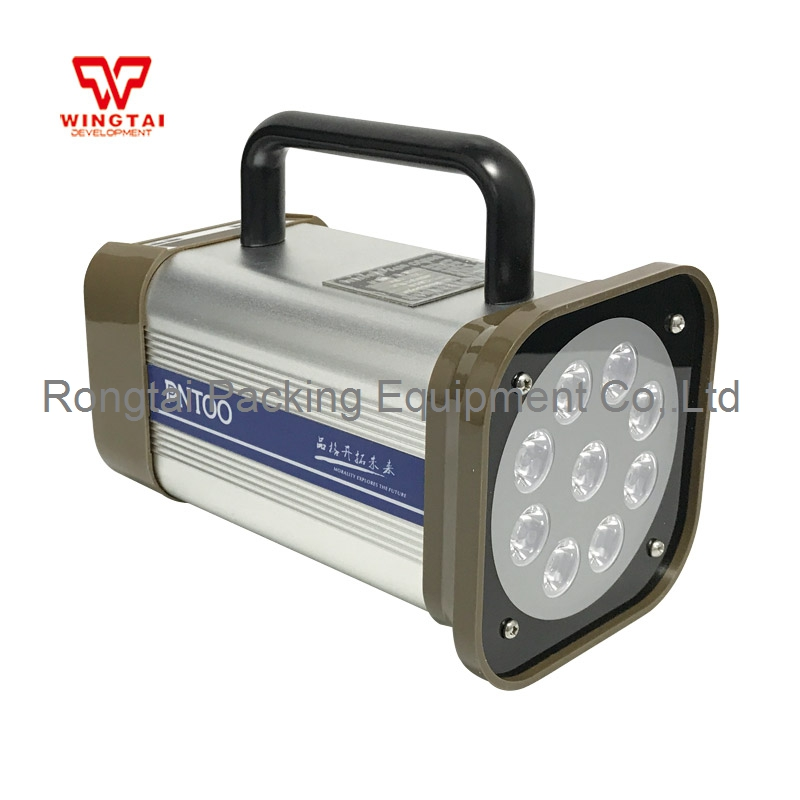 PANTOO PT-L01A-DC Rechargeable Battery LED Stroboscope 50~99999 times/min For Printing Machine 1000mm pt l02b 1000 led fixed stroboscope light portable stroboscope lamp for printing