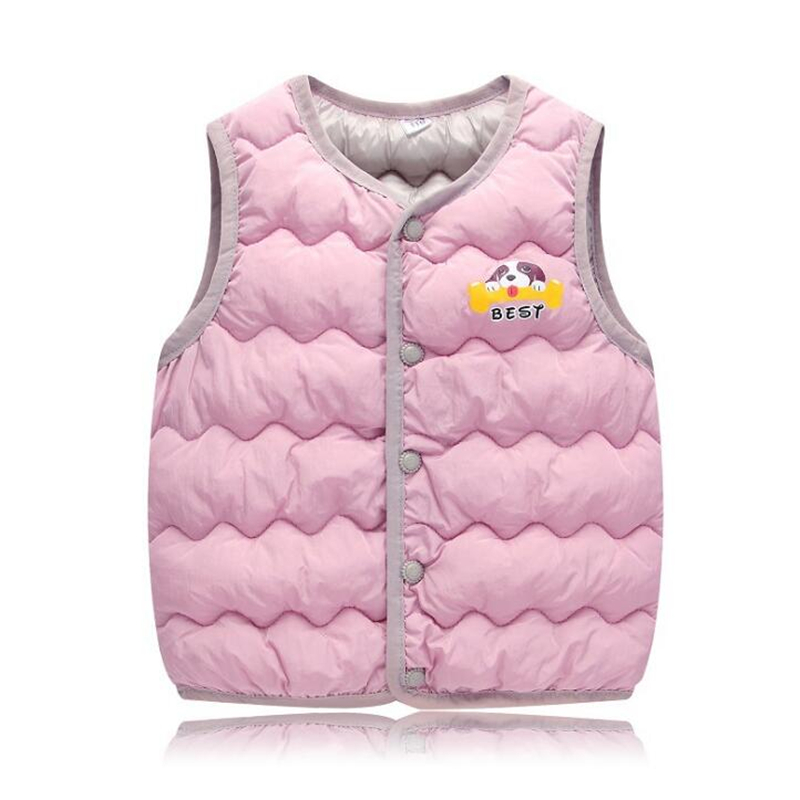 Infant Boys Girls Warm Vest Cotton Newborn Baby Coat Sleeveless Baby Clothing Winter Thick(China)